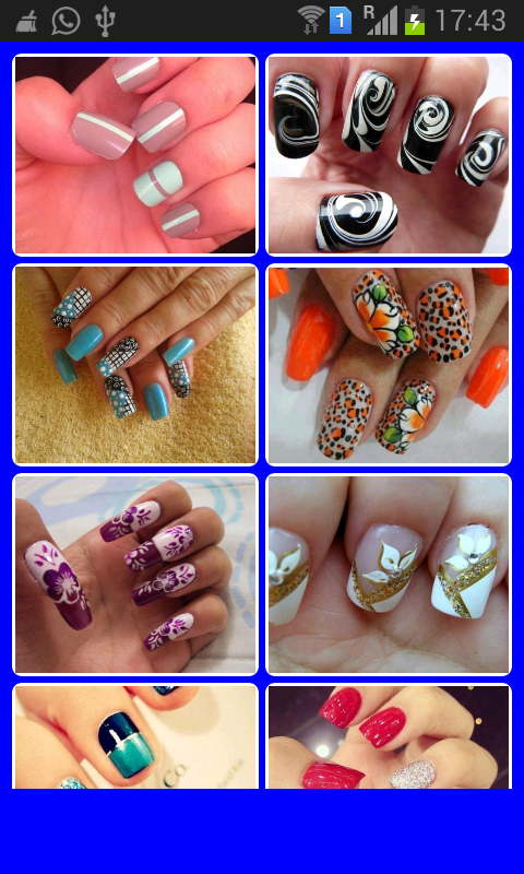 Latest nail designs android apps on google play latest nail designs screenshot prinsesfo Images
