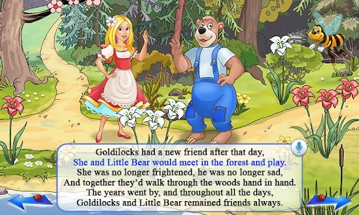 Goldilocks & Three Bears Book - screenshot thumbnail