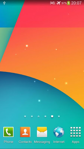 Nexus 5 動態桌布