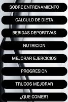Screenshot of Dieta Musculacion Fitness