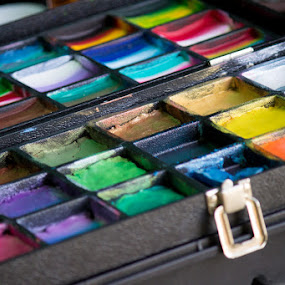 Various Paint by Paul Cushing - Artistic Objects Other Objects ( color, art, palette, paint )
