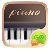 GO SMS PRO PIANO THEME