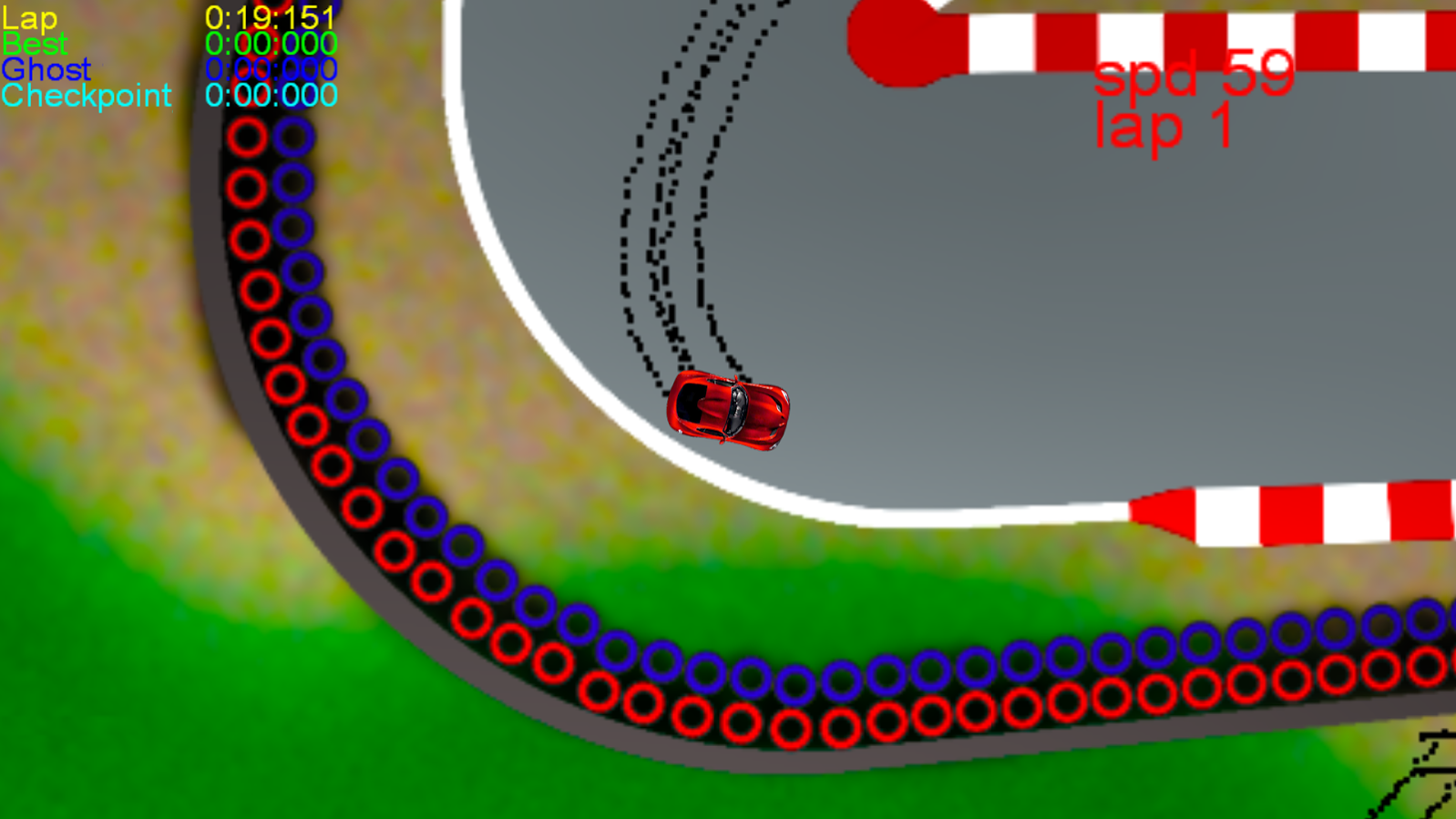 Z-Car Racing- screenshot