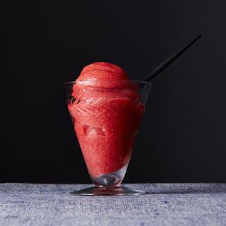 Sensational Strawberry Sorbet