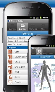 Fitness Buddy : 300+ Exercises
