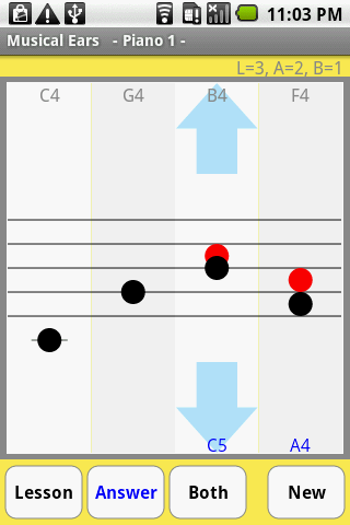 Musical Ears- screenshot