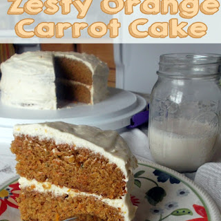 Zesty Orange Carrot Cake