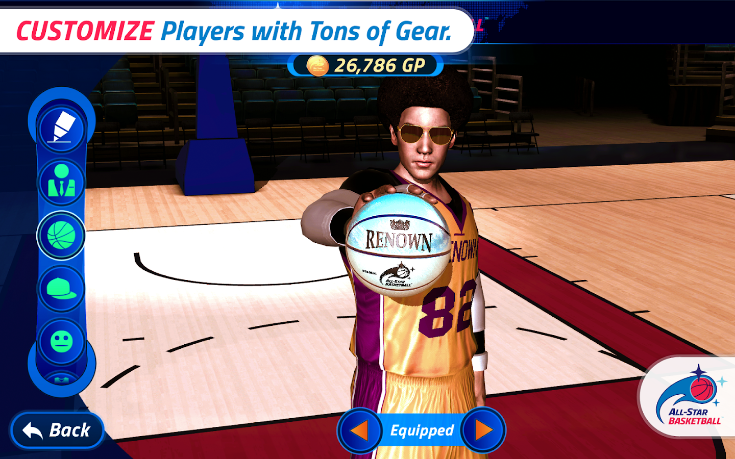 All-Star Basketball- screenshot