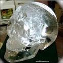 Crystal skull logo