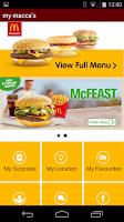 Screenshot of mymacca's®
