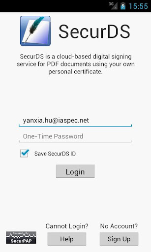 SecurDS - PDF Signing Service