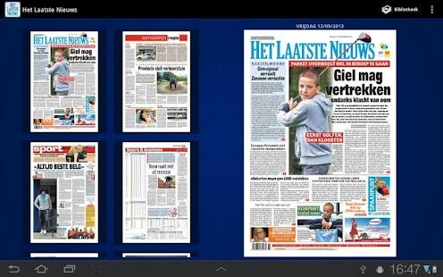 Het Laatste Nieuws- screenshot thumbnail