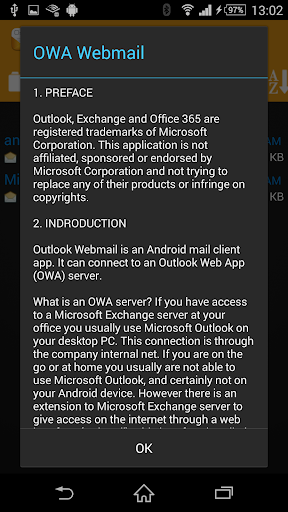 OWA Webmail for PC
