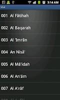 Screenshot of الشيخ محمود الطبلاوي