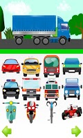 Screenshot of Cars For Kids Free Touch Game