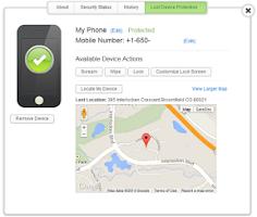 Screenshot of Security - Complete