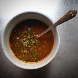 Herbed Moroccan Saffron Sauce.