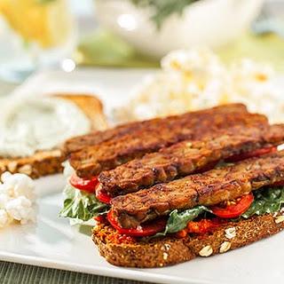 Plant Based BLT Sandwich.