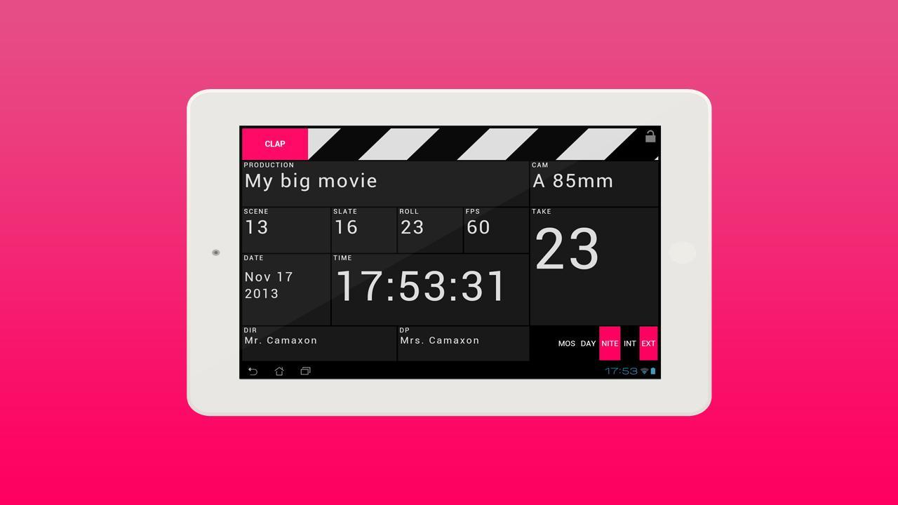 CLAPO - screenshot