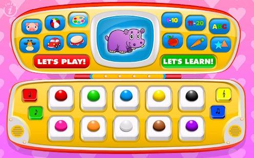 Kids Toy Phone Learning Games - screenshot thumbnail