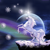 Moon Unicorn Wallpaper