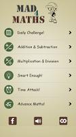 Screenshot of School Math: Brain Training