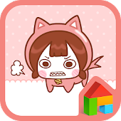 Cute Growl dodol theme