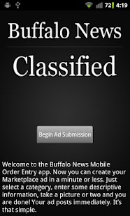 Buffalo News Classified - screenshot thumbnail