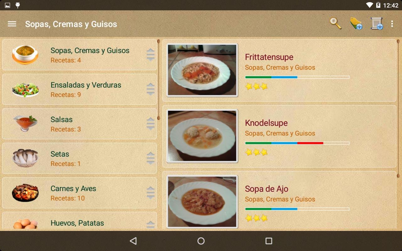 My Cookery Book- screenshot