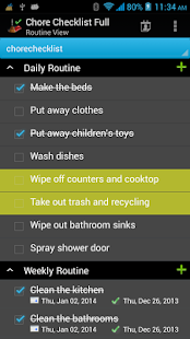 Chore Checklist - screenshot thumbnail