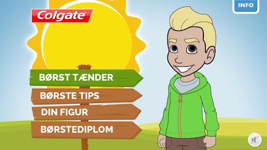 Colgate Kids Børst Tænder App