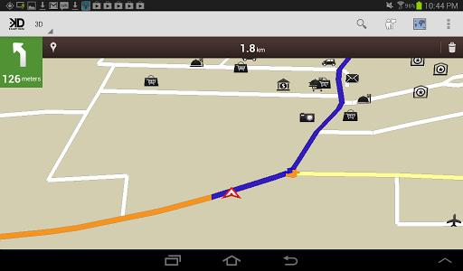Martinique GPS Map
