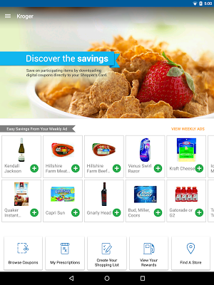 0 Kroger App screenshot