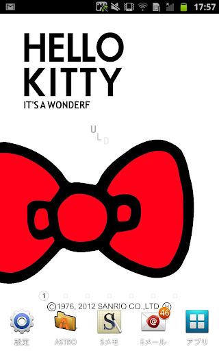 [ハローキティ]キティホワイトライブ壁紙