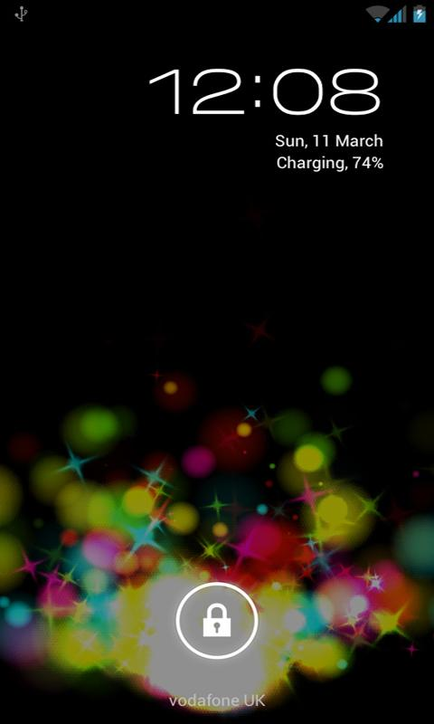 Crazy Colour Live Wallpaper - screenshot