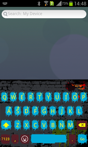 Emoji Keyboard+ Graffiti Theme