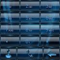exDialer GlassMetalFrame Azure