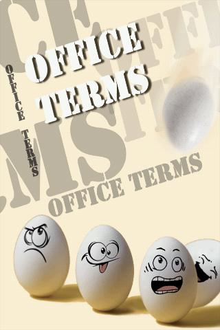 Funny  Office Terms - screenshot