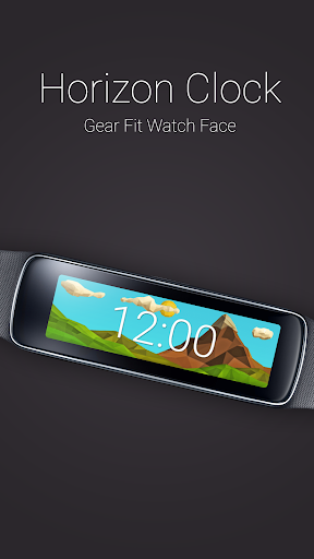 Horizon Clock for Gear Fit