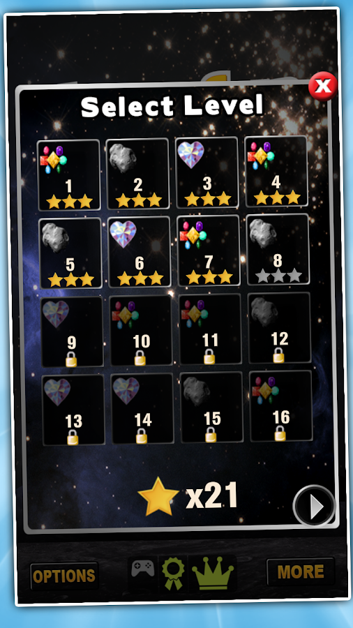 Jewels Star Saga JSL 2 - screenshot
