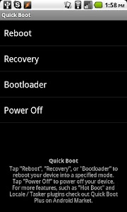 Quick Boot (Reboot) v4.5