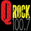 Q Rock 100.7 logo