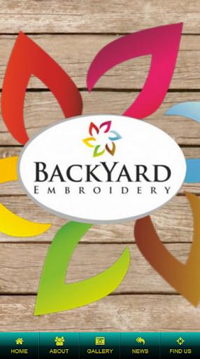 Backyard Embroidery Ltd