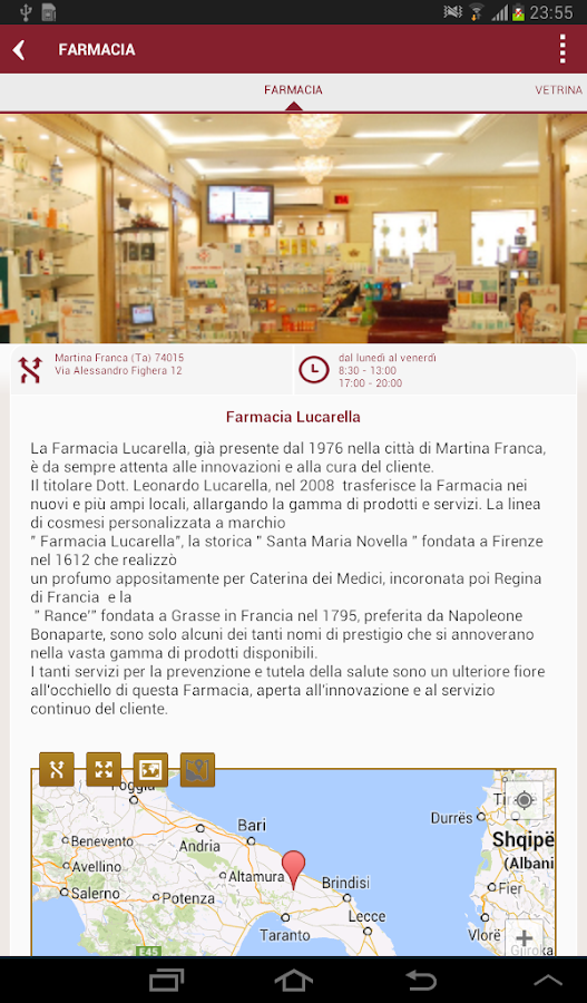 Farmacia Lucarella - screenshot