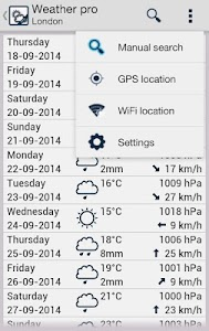Weather lite screenshot 2