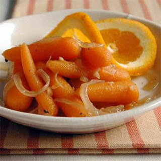 Orange-Glazed Carrots and Onions