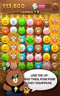LINE POP - screenshot thumbnail