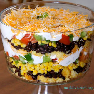 Bean and Cornbread Salad.
