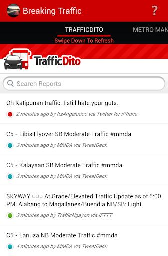 Breaking Traffic Philippines