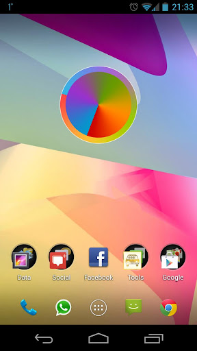 SDWATCH Colour Clock Widget HD